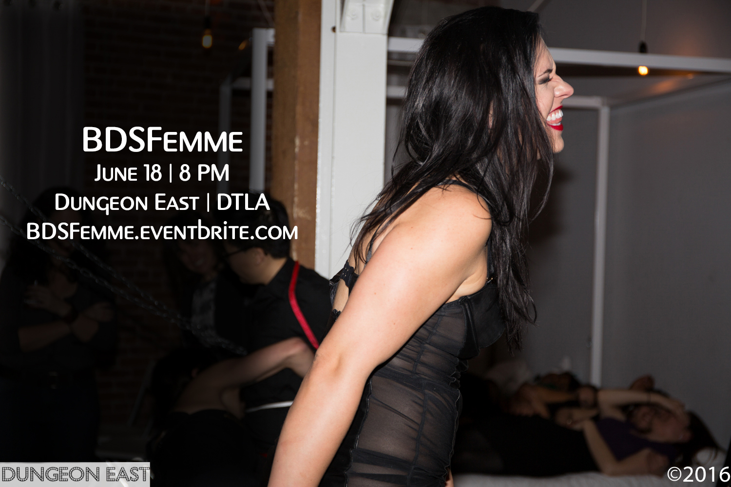 BDSFEMME – Saturday June 18th at Dungeon East